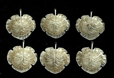 SET OF SIX STERLING SILVER T. KIRKPATRICK & CO. NUT/CANDY DISHES
