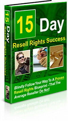 Resell Rights 15 Day Success - Resellers Don't Know About Income Producing (CD)