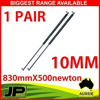 Gas Strut 830mm-500N x2 (10mm Shaft) Caravans, Camper Trailers, Canopy,Toolboxes