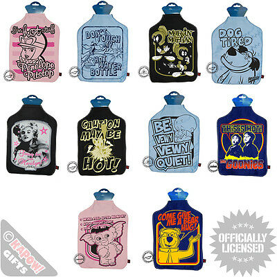 Funky Retro Hot Water Bottle Covers  - GREAT GIFTS FOR HIM HER