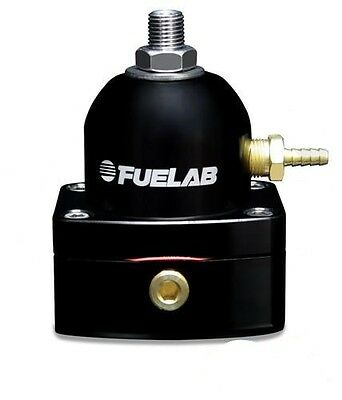 Fuelab Competition Fuel Pressure Regulator Black 51501-1 Single -10JIC Inlet EFI