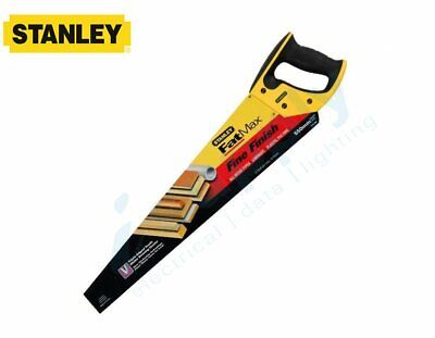 "Stanley 11TPI Fine Cut Hand Saw 500mm/20"" 550mm/22"" Precision Woodwork"