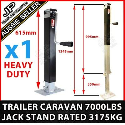 Trailer Parts Caravan Jack Stand 3175Kg Rated Heavy Duty Stabilizer Legs