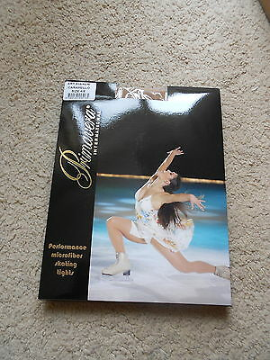 Caramel Pridance over boot skating tights - various sizes - new