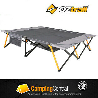 Oztrail Easy Fold Steel Camping Stretcher Queen Size