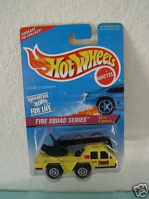 1996 Fire Squad Series Flame Stopper Hot Wheels #3