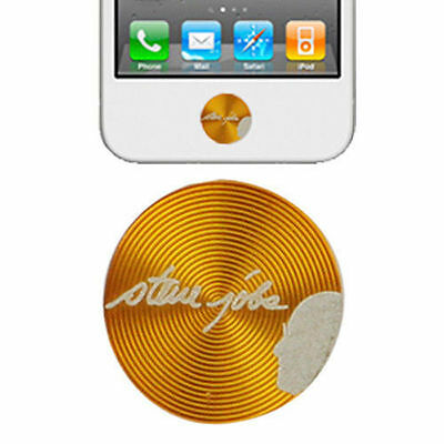 Aluminum Metal Home Button Sticker iPad-iPhone 4S-iPad 2-iPhone 4-iPhone 3G