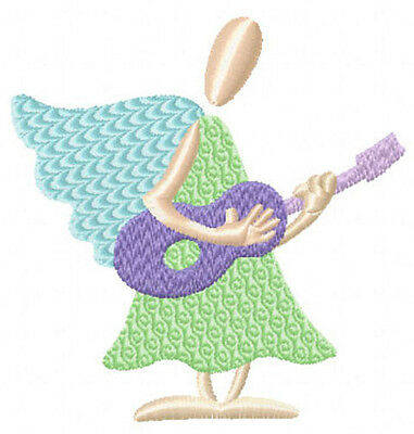 Funky Angels: 7 Machine Embroidery Designs set