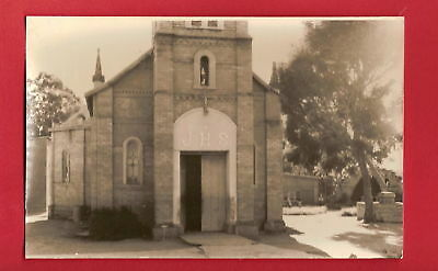 CPSM PHOTO postcard Church Eglise JHS lieu inconnu [989 A]