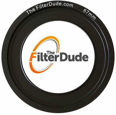 FilterDude 67mm LEE Compatible Wide Angle Adapter Ring for Filter Holder