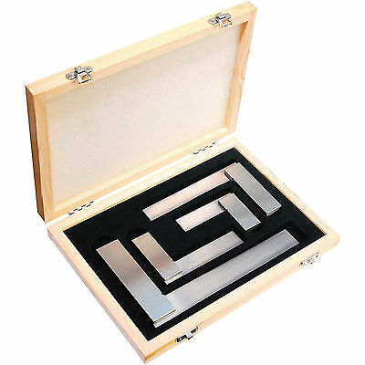"""Engineer's Square Set Of 4 Pcs - 2"""", 3"""", 4 & 6"""" !! BOX PACKED !! (BRAND NEW)"""