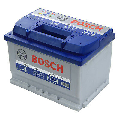 Bosch Car Battery 12V 60Ah Type 075 540CCA 4 Years Wty Sealed OEM Replacement
