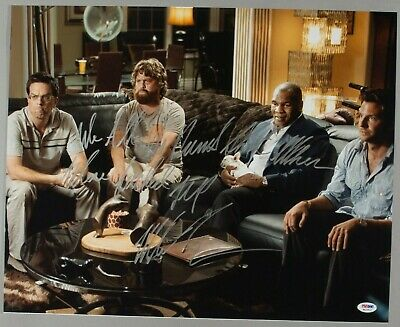 Mike Tyson Signed The Hangover Movie 16x20 Photo Picture PSA/DNA COA Autograph