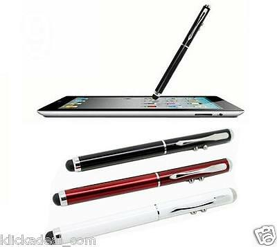 3 in 1 L-Pointer LED Torch Eingabestift für iPad, iPhone, LG Galaxy S5 S6 i9500
