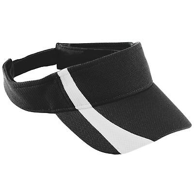 Augusta Sportswear Youth Adjustable Wicking Mesh Two Color Visor. 6261