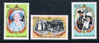 Gren.Grenadines1985 Life & Times Q. Mother SG689/91 MNH