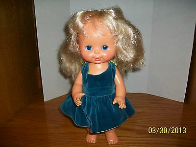 Vintage 1980 Pretty Curls 12 inch doll in very good condition