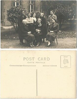 CPA PHOTO postcard Groupe de Dames anglaises Group of Ladies Angleterre UK 956 R