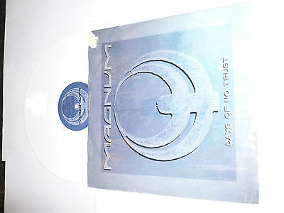 "MAGNUM - Days Of No Trust 1988 UK limited edition 4-track WHITE VINYL 12"" single"