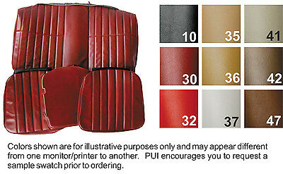 1974 - 1976 Chevy Camaro Coupe Standard Rear Seat Cover Colors Available