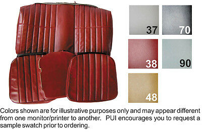1978 - 1979 Chevy Camaro Coupe Standard Rear Seat Cover 5 Colors Available