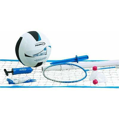 Volleyball & Badminten Set Franklin Sports 13076 complete sets ready to play 4PK