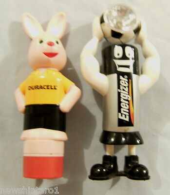 #t20. Energizer Soccer Player & Duracell Rabbit Battery Torches