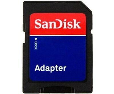 SanDisk TF Adapter - microSD micro to SD SDHC SDXC card fit 8GB 16GB 32GB 64GB