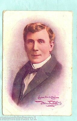 #A.  1909 Australian Theatre Royal Postcard, The Bondman, Male Actor