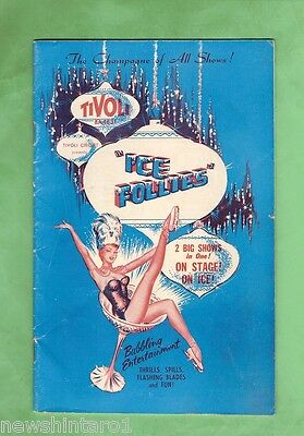 #d27. Sydney Tivoli Theatre 1962 Ice Follies Booklet