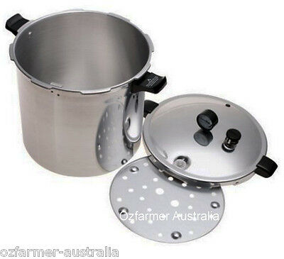 Presto 21L Pressure Cooker / Canner  Suits Fowlers-Vacola  Ball Mason Jars ★★★★★