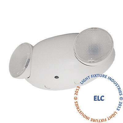 ALL LED Emergency Exit Light - Standard Bug Eye Fire Safety Code Case of 12 ELMW