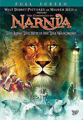 Disney THE CHRONICLES OF NARNIA: THE LION THE WITCH AND WARDROBE DVD Full Screen