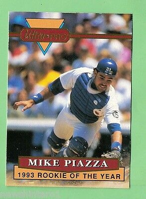 1994  ULTRAPRO BASEBALL PROMOTIONAL CARD - MIKE PIAZZA #2 of 6