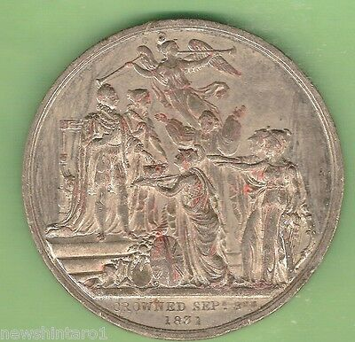 #s1.  1831  Coronation Of William Iv & Queen Adelaide  Medal