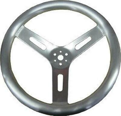 "Aluminum Steering Wheel BIG Pro Grip 15"" IMCA Dirt Modified Circle Track inch"