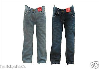 Girl's Funky Diva Kick Flares Denim Jeans 2-3 3-4 5-6 Yrs