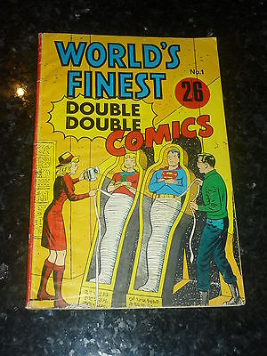 WORLDS FINEST Comics (DOUBLE DOUBLE)  - No 1 - National Periodical Publication
