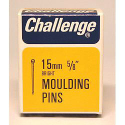 429999 Challenge Moulding Pins - Bright Steel (Box Pack) 15mm