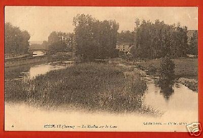 CPA postcard Mill Le Moulin sur la Cure ACCOLAY près Auxerre 89 Yonne A