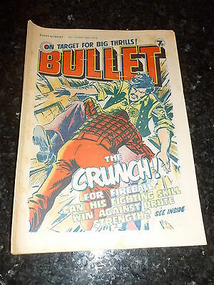 BULLET Comic - Issue 14 - Date 15/05/1976 - UK Paper Comic
