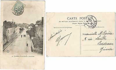 CPA postcard HOTEL Grand'Rue SAINT GERMAIN DES FOSSES → Vichy 03 Allier [907 R]