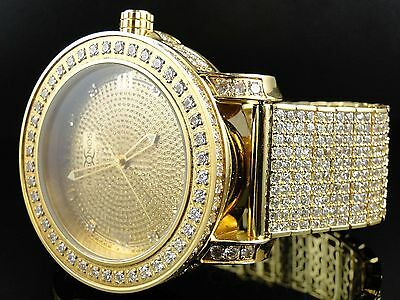 New Mens Khronos/ Jojino / Jojo / Joe Rodeo Genuine Diamond Watch