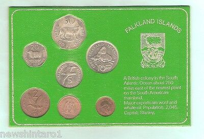 #d27.  1982 Falklands Islands Coin Set