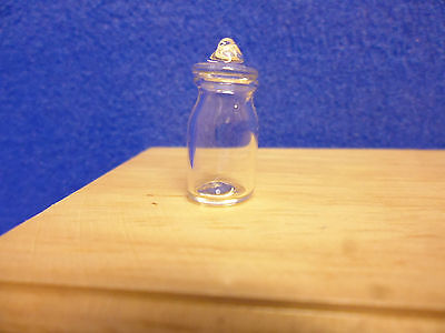 Dolls House    Glass Jar with Lid   MC1028