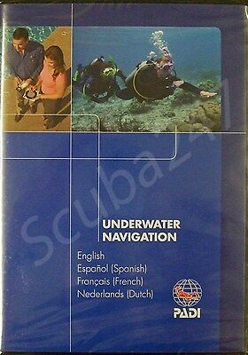PADI DVD Underwater Navigation Specialty Diving Course