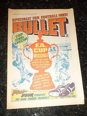 BULLET Comic - Issue 68 - Date 28/05/1977 - UK Comic