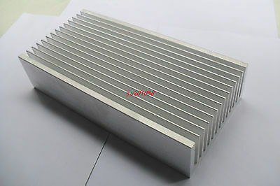 200x99x45mm Heat Sink DIY Aluminum HeatSink for  LED and Power amplifier