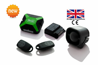 Car Alarms Central Lock + Immobiliser +Dual Proximity Sensor+ Window Closer
