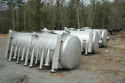 Precision Stainless Steel 304L 1000 Gallon Chemical Storage Vessel Tank - Unused
